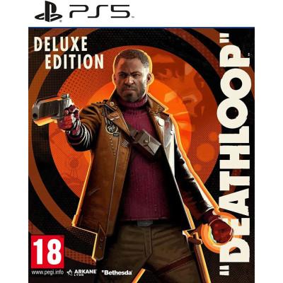 Игра для PlayStation 5 Deathloop. Издание Deluxe (русская версия)