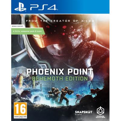 Игра для PS4/PS5 Phoenix Point: Behemoth Edition (русские субтитры)