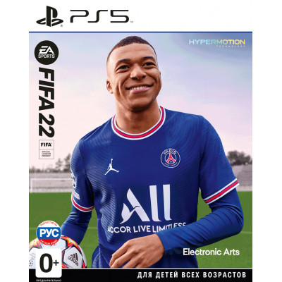 Игра для PlayStation 5 FIFA 22 (русская версия)