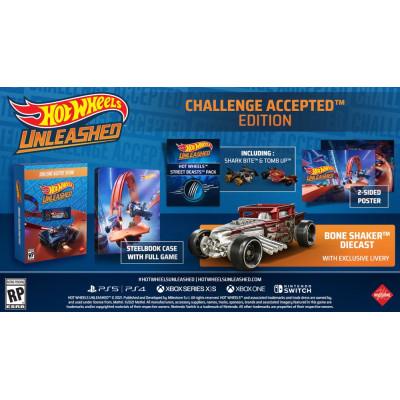 Игра для PlayStation 4 Hot Wheels Unleashed. Challenge Accepted Edition (русские субтитры)