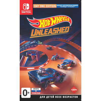 Игра для Nintendo Switch Hot Wheels Unleashed. Day One Edition (русские субтитры)