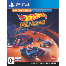 Hot Wheels Unleashed. Day One Edition [PS4, русские субтитры]