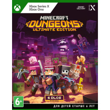 Minecraft Dungeons. Ultimate Edition [Xbox One/Series X, русские субтитры]