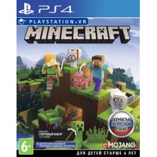 Minecraft (поддержка PS VR) [PS4, русская версия]