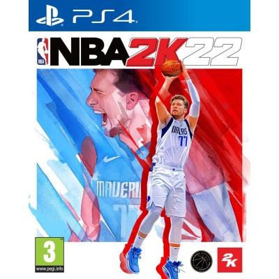 Игра для PlayStation 4 NBA 2K22 (английская версия)