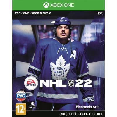Игра для Xbox One NHL 22 (русские субтитры)