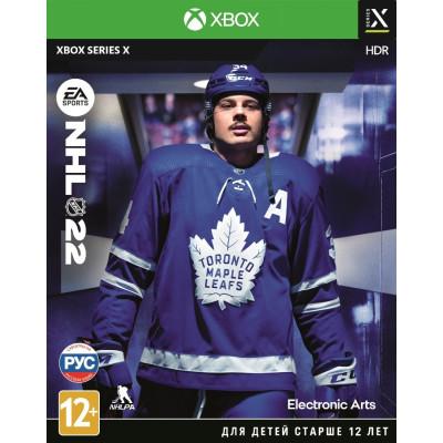 Игра для Xbox Series X NHL 22 (русские субтитры)