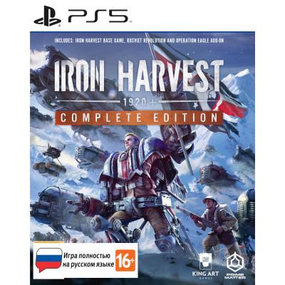 Игра для PlayStation 5 Iron Harvest. Complete Edition (русская версия)