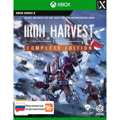 Игра для Xbox Series X Iron Harvest. Complete Edition (русская версия)