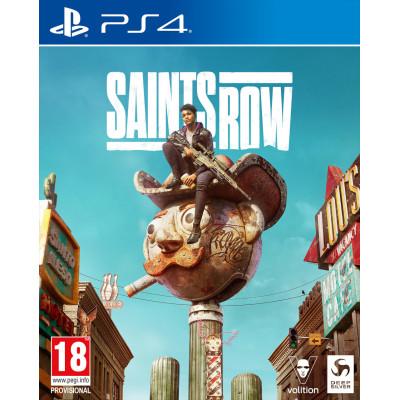 Игра для PlayStation 4 Saints Row. Day One Edition (русские субтитры)