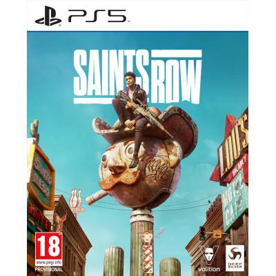Игра для PlayStation 5 Saints Row. Day One Edition (русские субтитры)