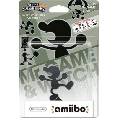 Интерактивная фигурка amiibo - Super Smash Bros - Mr. Game & Watch