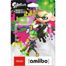 Интерактивная фигурка amiibo - Splatoon - Inkling Boy (неоново зеленый)