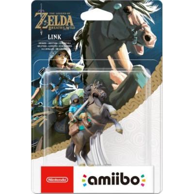 Интерактивная фигурка amiibo - The Legend of Zelda: The Breath of the Wild - Link (Всадник)