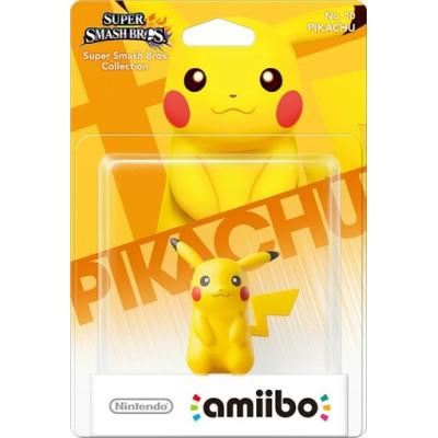 Интерактивная фигурка amiibo - Super Smash Bros - Pikachu