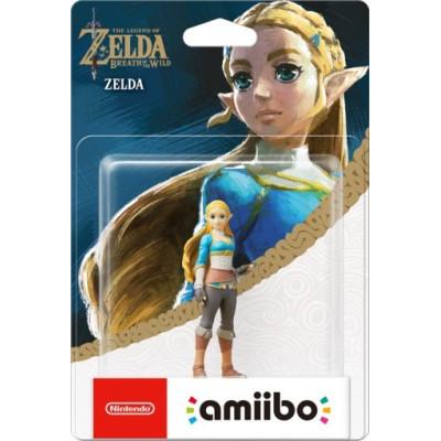 Интерактивная фигурка amiibo - The Legend of Zelda: The Breath of the Wild - Zelda