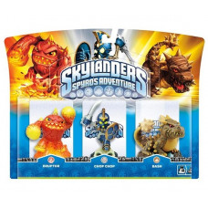 Набор интерактивных фигурок Skylanders Spyro's Adventure (Chop Chop, Bash, Eruptor) [PC, PS3, Xbox 360, 3DS, Wii]