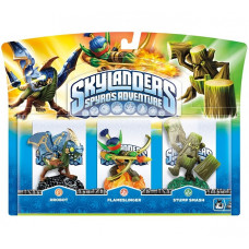 Набор интерактивных фигурок Skylanders Spyro's Adventure (Drobot, Stump Smash, Flameslinger) [PC, PS3, Xbox 360, 3DS, Wii]