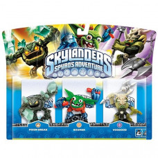 Набор интерактивных фигурок Skylanders Spyro's Adventure (Voodood, Boomer, Prism Break) [PC, PS3, Xbox 360, 3DS, Wii]
