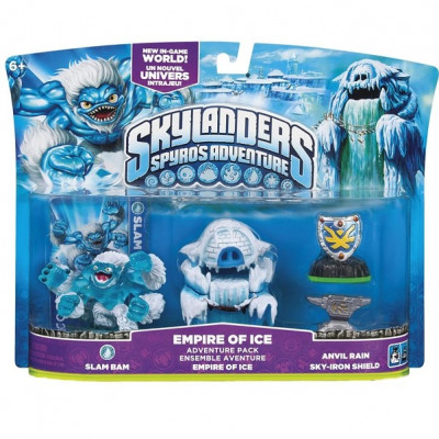 Набор приключений Skylanders: Spyro's Adventure - Empire of Ice [PC, PS3, Xbox 360, 3DS, Wii]