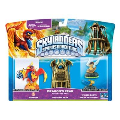 Набор приключений Skylanders: Spyro's Adventure - Dragon's Peak [PC, PS3, Xbox 360, 3DS, Wii]