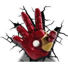 Светильник 3D - Iron Man Hand