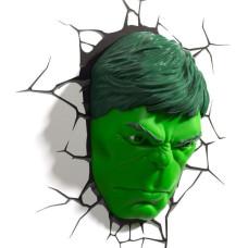 Светильник 3D - Hulk Face