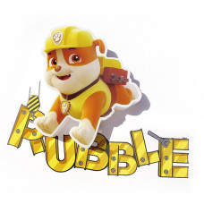 Светильник 3D - Paw Patrol Rubble Mini