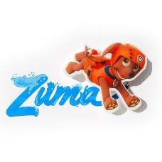Светильник 3D - Paw Patrol Zuma Mini