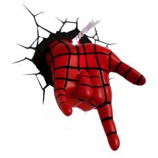 Светильник 3D - Spider-man Hand