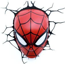 Светильник 3D - Spider-man Mask