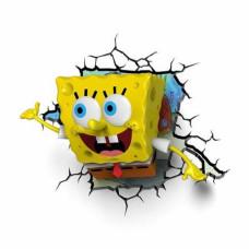 Светильник 3D - Spongebob