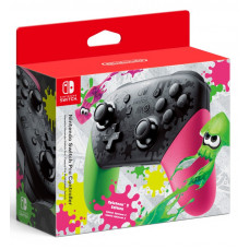 Контроллер Nintendo Switch Pro в стиле Splatoon 2
