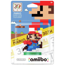 Интерактивная фигурка amiibo - Super Mario - Mario 30th Anniversary (Classic Colours)