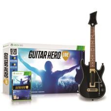 Комплект для Guitar Hero Live (игра + беспроводная гитара) [Xbox 360, английская версия]