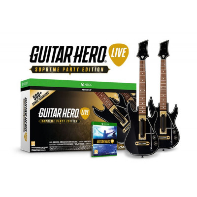 Guitar Hero Live. Supreme Party Edition [Xbox One, английская версия]