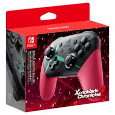 Контроллер Nintendo Switch Pro в стиле Xenoblade Chronicles 2