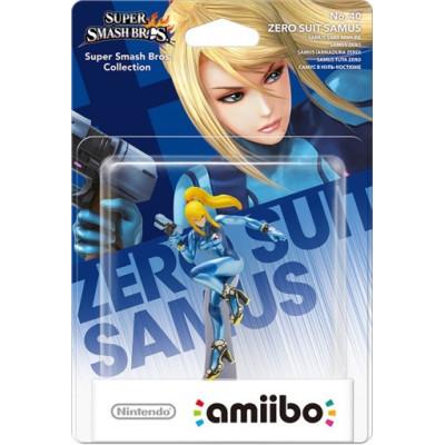 Интерактивная фигурка amiibo - Super Smash Bros - Zero Suit Samus