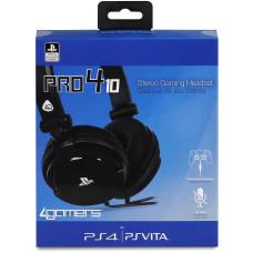 Гарнитура игровая стерео 4gamers PRO4-10 для PS4/PS Vita