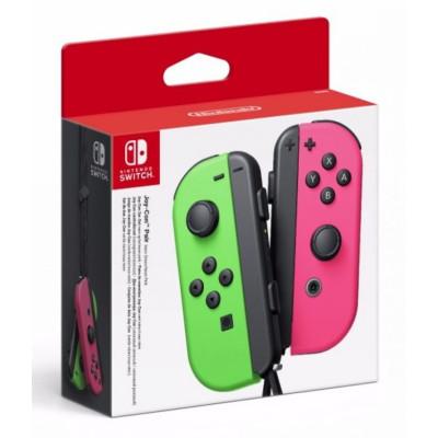 Набор из 2-х контроллеров Joy-Con (неоновый зеленый / неоновый розовый)