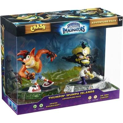 Набор интерактивных фигурок Skylanders: Imaginators - Adventure Pack №2 - Crash Bandicoot (Life) и Dr.Neo Cortex (Tech) [PS4, Xbox One, PS3, Xbox 360, NS, Wii U]