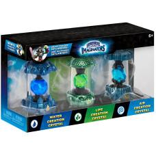 Набор интерактивных фигурок Skylanders: Imaginators - Water/Air/Life Creation Crystal [PS4, Xbox One, PS3, Xbox 360, NS, Wii U]