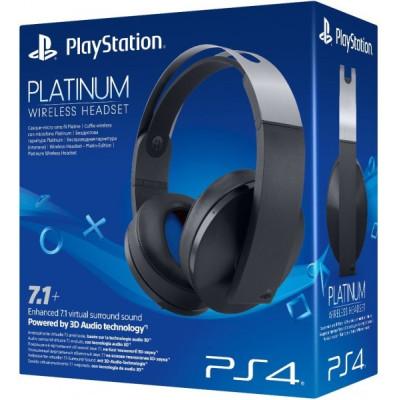 Гарнитура Sony беспроводная черная Platinum для PS4 (Wireless Stereo Headset Black: CECHYA-0090: SCEE)