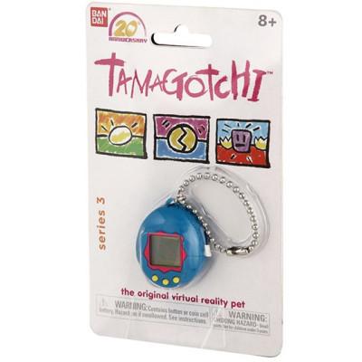 Игрушка электронная Chibi Tamagotchi (синий/красный/желтый)