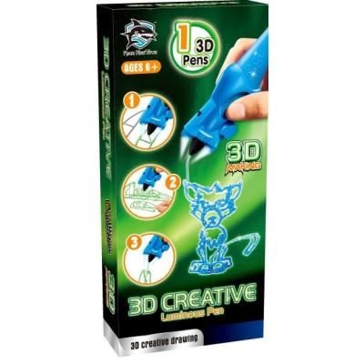 3d-ручка Fitfun Toys детская Y8801-1B (светящиеся чернила)