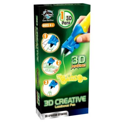 3d-ручка Fitfun Toys детская Y8801-1A (светящиеся чернила)