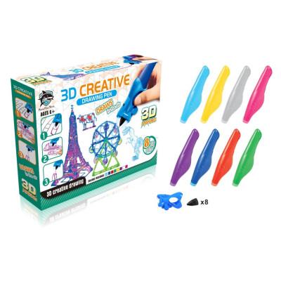 Набор 3D-ручек Fitfun Toys 8808-4 (8 шт.)