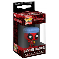 Брелок Deadpool - Pocket POP! - Bathtime Deadpool (4 см)