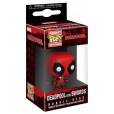 Брелок Deadpool - Pocket POP! - Deadpool with Sword (4 см)
