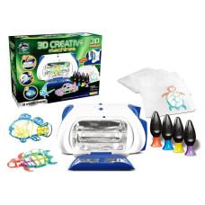 Принтер детский с набором картриджей со светящимся жидким полимером Fitfun Toys Y6601